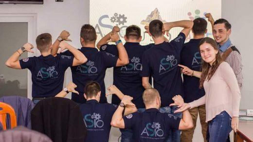 Echipa asio oradea asociatia studentilor ingineri oradea